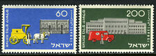 Israel 88-89, MNH. Mail Coach and Mail Truck, 1954