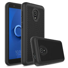 For Alcatel TCL LX A502DL IdealXTRA 1X Evolve Shockproof Hybrid Hard Case Cover