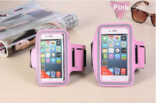 Sport Running Gym Armband Band Strap Case Apple iPhone 7 Plus 6 6s Plus 5 5s SE for iPhone 8 Plus Pink
