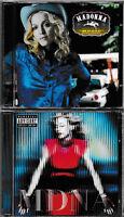2 x CD ALBUM - MADONNA - MDNA + MUSIC  / NEU+VERSCHWEISST!