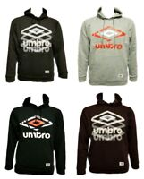 Men`s New UMBRO Hoodie Size S-M-L-XL in 7 Colours Hooded Sweatshirt