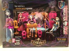Monster High 13 Wishes Party Lounge Playset W/Exclusive Spectra Vondergeist Doll