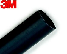 3M FP-301 BLACK HEAT SHRINK TUBING (1/2 inch x 4 feet) , From USA