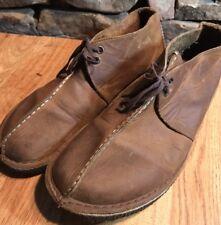Clarks Originals Desert Trek Brown Leather Chukka 36449 Shoes Size 11 M..NICE!!