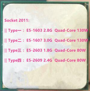 Intel Xeon E5-1603 E5-1607 E5-1620 E5-1650 E5-2603 E5-2609 LGA 2011 CPU