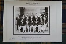 Cricket Collectable - Photo Portrait -Australia v South Africa 3rd Test SCG 1953
