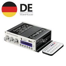 Bluetooth HiFi 2-Kanal Verstärker Endstufe DSP Power Amplifier Auto Car MP3 Amp