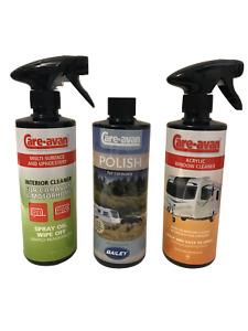 Care-avan Caravan Polish, Window, Interior Multi-Surface Three Product Special