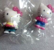Hello Kitty Mini Figure Sanrio Italy Set of 2 from Panini Sticker Collection /X4