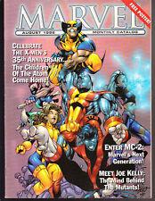 8 LOT MARVEL MAGAZINE CATALOGS 1998 1999 GAMBIT X-MEN SPIDER-MAN BATTLEBOOKS +