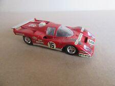 259H Vintage Solido 197 Ferrari 512 M Le Mans 1971 # 16 Artesanía 1:43