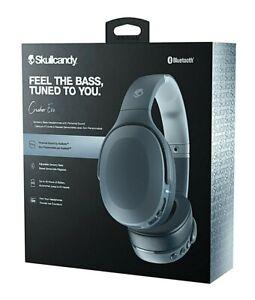 NEW Skullcandy Crusher Evo Chill Grey Over-the-Ear Wireless Bluetooth Headphones