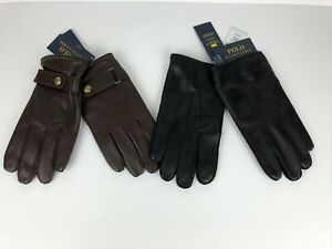 Polo Ralph Lauren Everyday Nappa Sheep Leather Thinsulate Fleece Lined Gloves