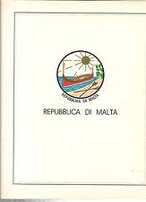 fogli marini King malta 1975