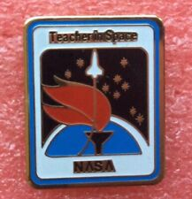 Pins ÉCUSSON Patch NASA TEACHER IN SPACE CHALLENGER Vintage Badge Lapel Pin