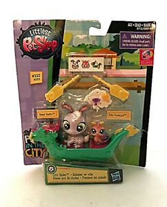 Hasbro Littlest Pet Shop Pets in the City #222 #223 New