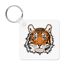 Tiger Face Keyring Key Chain - Funny Animal