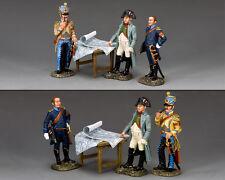 King and Country Napoléon L'empereur Napoléon et son aide de camps NA375