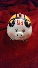 Vintage Mini Chinese Piggy Bank