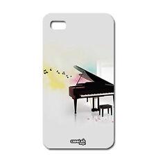 CUSTODIA COVER CASE MUSICA PIANOFORTE PIANO MUSIC PER IPHONE 5 5S