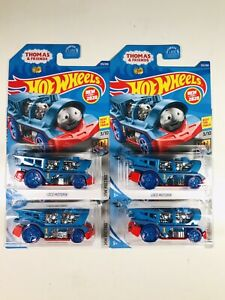 2020 Hot Wheels LOT OF 4 Loco Motorin' THOMAS the TRAIN and Friends 125/250