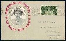 Great Britain FDC 1953 Manchester Coronation Stamp First Day Cover kkm70805