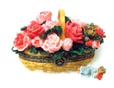 Boyds Longaberger Collector's Club Treasure Box Peony Basket - New in Box