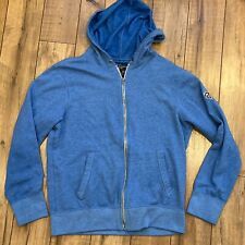 American Eagle Outfitters Men's Large Blue Athletic Fit Full Zip Hoodie