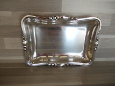Vintage Christofle serving dish - silver plated - signed in metal