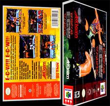 ECW Hardcore Revolution   - N64 Reproduction Art Case/Box No Game.