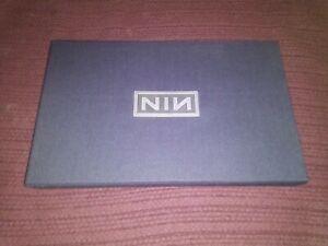 Nine Inch Nails NIN Ghost Box cd dvd Set Rock Metal Rare