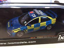 Mitsubishi Lancer Evo X UK Police 2008  - IXO 1:43 DIECAST MODEL CAR MOC116