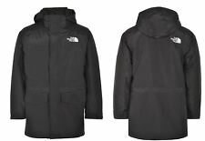 MEN'S THE NORTH FACE CARNIC JACKET BLACK INSULATED HOODIE PARKA COAT SIZE LARGE