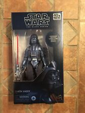 Hasbro Star Wars The Black Series 40th Anniversary Carbonised Darth Vader Action Figure