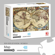 16th World map 1000-piece Puzzle Children's educational toys adult Room Decor