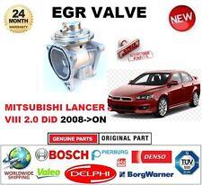 FOR MITSUBISHI LANCER VIII 2.0 DiD 2008-> Pneumatic EGR VALVE with GASKETS/SEALS