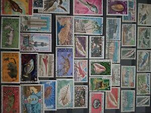 Alum de 1000 timbres anciennes colonies françaises