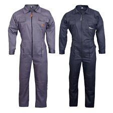 Hombre Mono Traje de Caldera Mono Para Warehouse Garajes Trabajadores Resistente