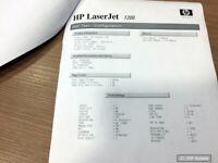 LaserJet 1200 Laserdrucker S/W A4, ca. 36.500 Seiten gedruckt, 100% OK, MZ-222