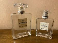 2 bottiglie profumo Chanel n 5 VUOTE