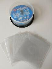 More details for 14 x verbatim datalifeplus dvd+r discs 4.7gb 120 minutes with slip covers