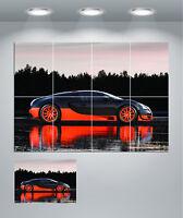 Bugatti Veyron Super Car Giant Wall Art poster Print