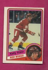 1984-85 OPC # 56 RED WINGS KELLY KESIO ROOKIE EX-MT CARD (INV# A6012)
