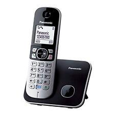 Telefono Fijo Panasonic KX-TG6811 Negro Original Usado