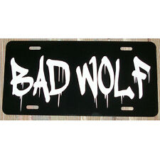 Doctor Who Bad Wolf Rose Tyler License Plate Car Tag