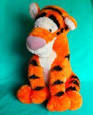 "Disney Parks Tigger 20"" Large Fuzzy Plush Toy Disney Winnie Pooh Tigger New"