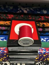 Gudebrod Fishing Rod Winding thread Ncp Size A, C, D,  Scarlet 326. 1 Sp.