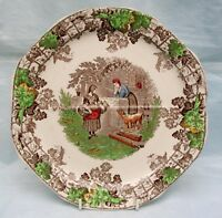 Copeland Spode  Byron Series  No1 Four Sectioned  Cake or Sandwich Plate .