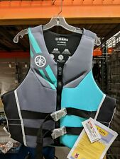Genuine Yamaha Women's Life Vest Teal & Gray