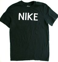 Nike Men's Large Black Standard Fit Short Sleeve Graphic Tee T Shirt, 637586